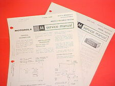 1968 MOTOROLA TRACTOR AM RADIO FACTORY SERVICE MANUAL MODELS TM100M & TM101M