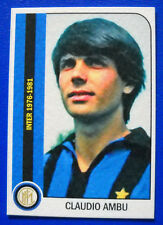 FIGURINA TUTTA L'INTER 1950/1981 - CLAUDIO AMBU - new