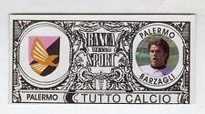 figurina BANCA DELLO SPORT TUTTO CALCIO 2007/2008 PALERMO BARZAGLI