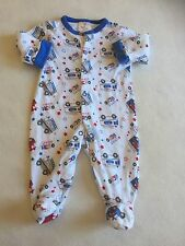 Baby Boys Clothes  Newborn- Cute  BabyGrow Sleepsuit