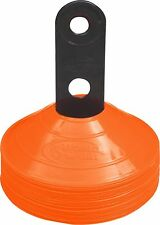 SET 25 ORANGE Disc Cones free stand agility training fitness field marking
