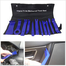 11pc Blue Nylon Car Panel Dash Audio Stereo GPS Molding Removal Install Tool Kit
