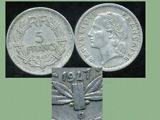 5 francs LAVRILLIER 1947 B    (  le 9 fermé  )