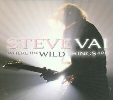 Where the Wild Things Are [Digipak] by Steve Vai (CD, Oct-2009, Favored...