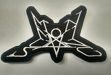 SUMMONING Embroidered Patch Metal LOTR USA Seller FAST DELIVERYwhite