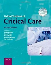 Oxford Textbook of Critical Care - Webb Angus Finfer Singer - 2nd Edition 2016