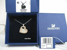 Swarovski Amorous Versatile Pendant Heart Shaped Crystal Authentic MIB - 5032964