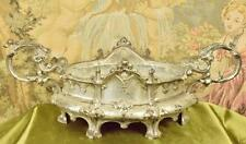 Stunning Antique French Spelter Planter / Jardiniere, Ecclesiastical Style,19thC