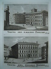 ITALIE 1795 70 EGRAVED VIEWS 70 INCISIONI ARCHITETTURA ITALIA ROMA VATICAN ITALY