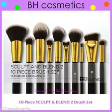 NEW BH Cosmetics 10-Piece SCULPT AND BLEND 2 Face & Eye Brush Set FREE SHIPPING
