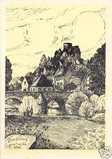 AK, Trendelburg, Teilansicht, Künstlerkarte, 1946