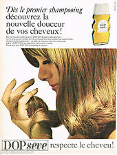 PUBLICITE ADVERTISING 075  1966  Le shampoing  DOP SEVE