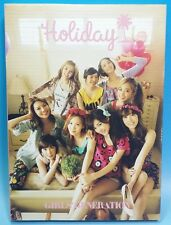 Girls Generation SNSD Japan 1st Official Photo Book Holiday