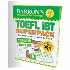 Barron's TOEFL IBT Superpack, 2nd Edition by Pamela Sharpe (2013, Mixed...
