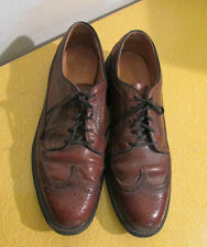 Hanover Longwing Wingtip Brogue Vintage Oxfords size 10 c