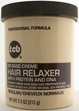 TCB PROFESSIONAL FORMULA NO BASE CREME HAIR RELAXER 7.5 OZ. (CHOOSE STRENGTH)