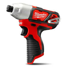 "New Milwaukee 12V Li-Ion Cordless Compact 1/4"" Hex Impact Driver Skin Only"