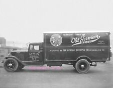 OLD GERMAN BEER INTERNATIONAL TRUCK 8X11 PHOTO BK MILLER DISTRIBUTORS CLINTON MD