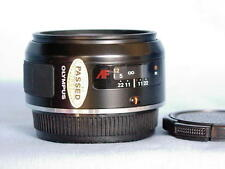 OLYMPUS AF 50mm F1.8 LENS OM-77AF OM-707 OM-101 OM-88 PERFECT MINT CONDITION