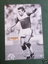 PETER REID - EVERTON - 1 PAGE PICTURE - CLIPPING /CUTTING