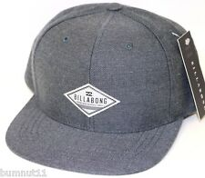 Authentic Men's BILLABONG Oxford Snap Back Cap. One Size. NWT. RRP $29.95.