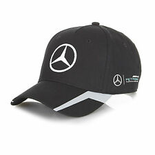 OFFICIAL 2016 Mercedes AMG Petronas F1 Replica Team Cap BLACK - NEW