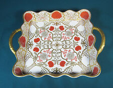 "Abbeydale England "" Imperial "" Chrysanthemum Square Serving Plate - 10 3/4"""