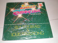 Ella Fitzgerald/Louis Armstrong LP Jazz Special SEALED ITALY