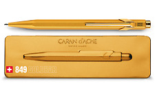 Caran d'Ache 849 Goldbar Ballpoint Pen - With Gift Box