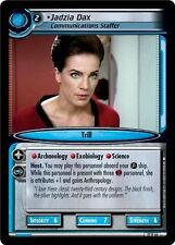 Star Trek CCG 2E These Are The Voyages Jadzia Dax, Comm. Staffer 12R66