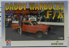 KING PHIL BONNER'S FORD FALCON 1965 65 F/X DRAG CAR DADDY WARBUCKS AMT MODEL KIT
