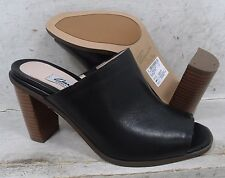 NEW Clarks Narrative Womens Image Gallery Black Leather 12049 Shoes size mm 6 M*