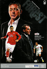 Nottingham Forest  v Swansea City Championship Play-Off 2011 FOOTBALL PROGRAMME