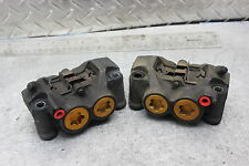 08 16 Yamaha R6 R6R Front Wheel Brake Calipers Set