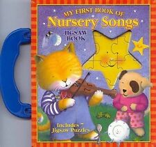 My First Book of Nursery Songs Trace Moroney NEW JIGSAW BOOK Five Mile Press HC