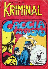KRIMINAL N. 418 DELL'OTTOBRE 1974