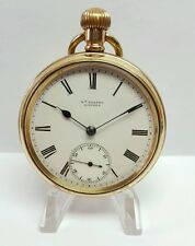 GADSBY LINCOLN GOLD FILLED ANTIQUE POCKET WATCH 16 JEWEL MOVEMENT # 69620