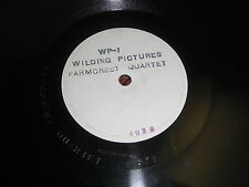 RARE FARMCREST BAKERY VICTOR 78 RPM RECORD WP-1 ADVERTISING JINGLES EMBOSSED
