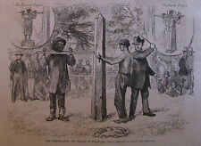 WHIPPING POST AND PILLORY IN DELAWARE HARPER'S WEEKLY 1876