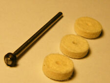 Diamond Impregnated Felt Wheels/ Bobs for Finishing- All Metals-Ceramics-Plastic