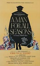 A Man for All Seasons Vintage Movie Poster Lithograph Paul Scofield COA S2 Art