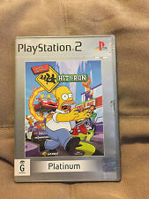 The Simpsons Hit & Run PS2 Platinum Video Game with Maunal