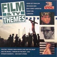 FREE US SH (int'l sh=$0-$3) NEW CD Various Artists: Film and TV Themes, Vol.3 Im
