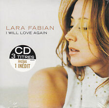 CD CARTONNE CARDSLEEVE LARA FABIAN 3T I WILL LOVE AGAIN NEUF SCELLE