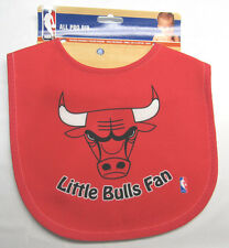 NBA NWT INFANT ALL PRO BABY BIB - ALL RED - CHICAGO BULLS