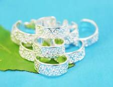 wholesale lots 10P 925sterling solid Silver fashion Design toe rings Adjustable