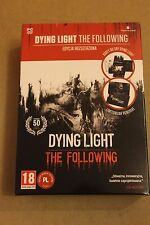 Dying Light Enhanced Edition - The Following PC BOX + PENDRIVE 8GB + CARDS