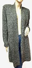 $70 NWT APT.9  Authentic Women's Fashion Cozy Duster Gray Cardigan Sz.Large