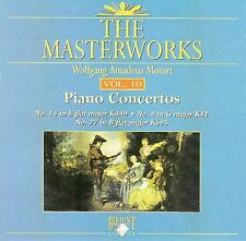 The Masterworks Vol. 19-Wolfgang Amadeus Mozart Piano Concerto CD