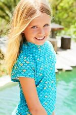 Mahina Mermaid, Mahina  Swimwear, Aqua Rash Shirt Age 10.
